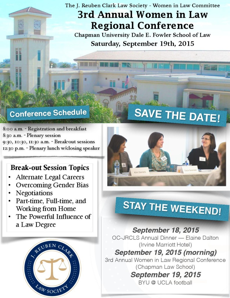 Save the Date: JRCLS Women in Law, Regional Conference-0